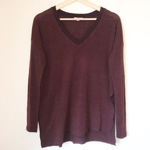 Wilfred Sherbrooke Sweater Top Side slit